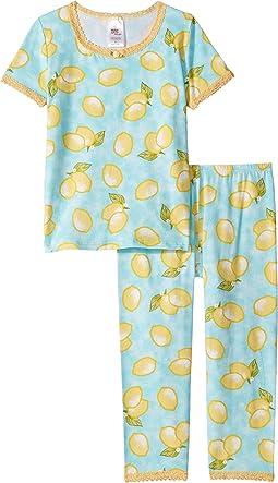Blue Lemon/Yellow Lace