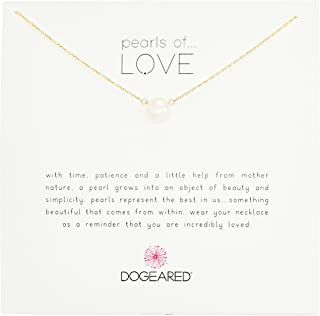 Dogeared Pearls of Love 8mm Freshwater Pearl Necklace, 18