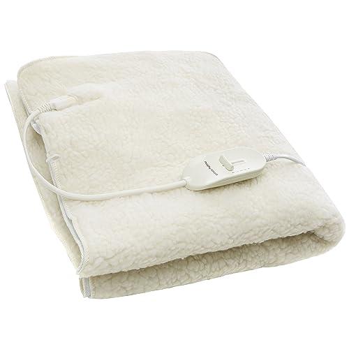 868738c733dd9 Morphy Richards Washable Heated Underblanket Single 4 Heat Settings 600011  Single Electric Blanket White