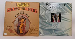 Tony Orlando & Dawn 2 Vinyl Record Albums Tony Orlando and Dawn II and Dawn's New Ragtime Follies