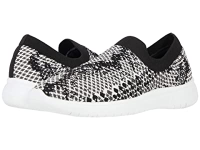 Blondo Karen Waterproof Knit Sneaker (Black/White Knit) Women