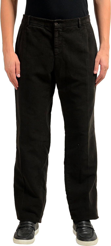Dolce & Gabbana Men's Dark Brown Casual Pants US 36 IT 52