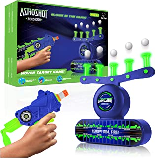 USA Toyz AstroShot Zero GSX Glow in The Dark Shooting Games - Compatible Nerf Target, Floating Ball Shooting Game for Kids...