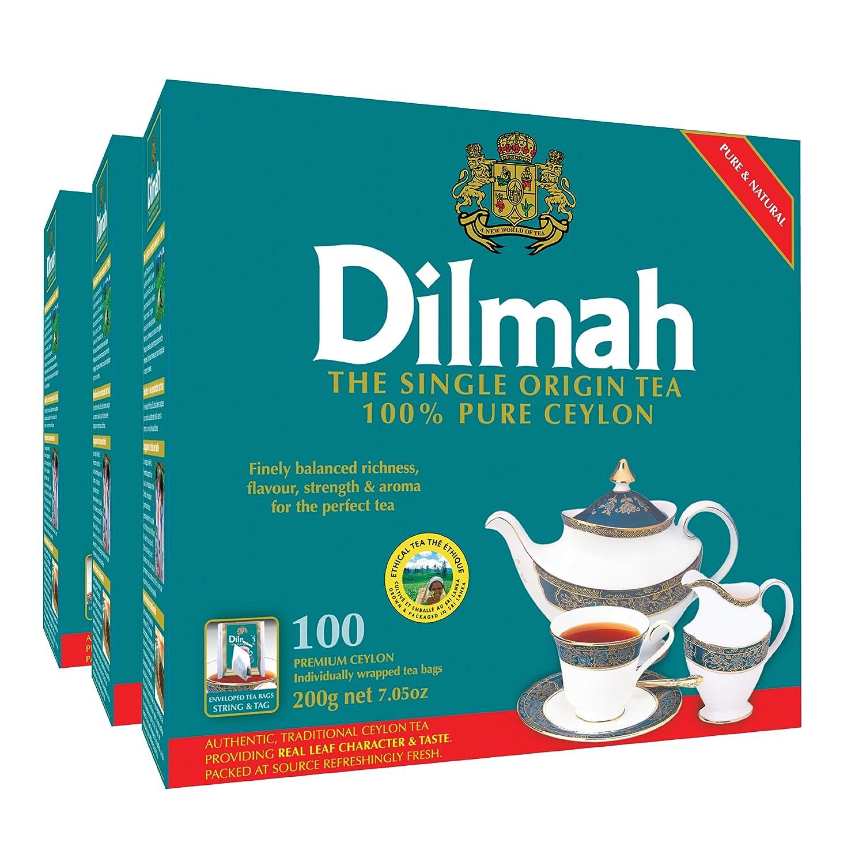 Dilmah Premium Ceylon supreme Tea 100-Count Foil Wrapped T Max 59% OFF Individually