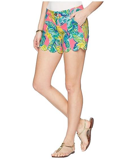 de Pink cortos Pulitzer Lilly pantalones local Buttercup sabor tramo sarga Sunset nfFgFCqXx