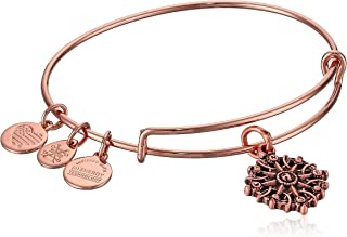 alex and ani rose gold bangles