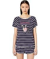 Kate Spade New York - Jersey Knit Short Pajama Set