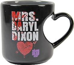 The Walking Dead Mrs. Daryl Dixon 12 oz Heart Mug