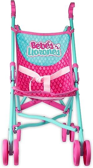 IMC Toys 99999 - Bebés Llorones, Sillita de paseo , colores/modelos surtidos, 1 unidad