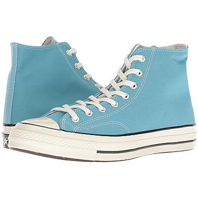Converse Chuck 70 Seasonal Hi (Shoreline Blue/Black/Egret) Shoes
