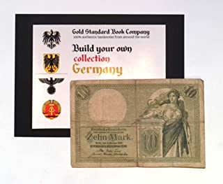 1906 German Empire Authentic 10 Mark Banknote