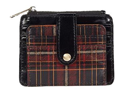 Patricia Nash Cassis Card Case (Red Tartan) Handbags