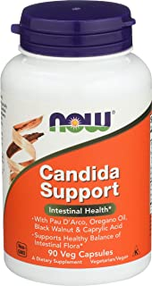 NOW  Candida Support, 90 Veg Capsules (Pack of 2)