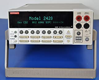 Keithley 2420 High-Current SourceMeter w/ Measurements up to 60V and 3A, 60W Power Output