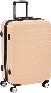 Amazon Basics Valise rigide à roulettes pivotantes de qualité avec serrure TSA intégrée - 68 cm, Rose