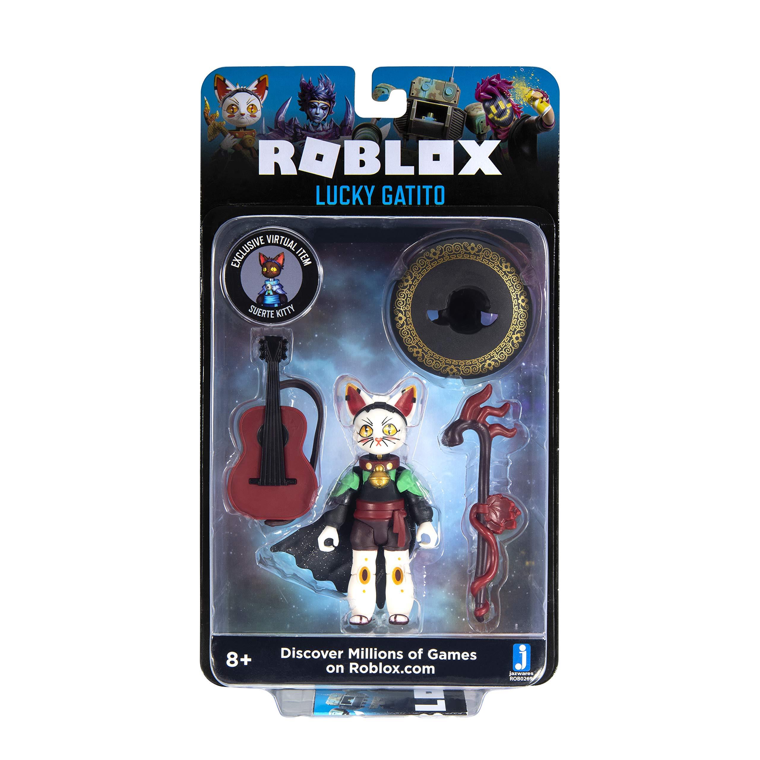 Lucky GATITO NOOB attaque crystello ROBLOX Imagination figure Digital artiste