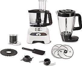 Moulinex food processor, 1000 watts, food processor + blender + chopper, 6 speed options, 28 functions, FP822127