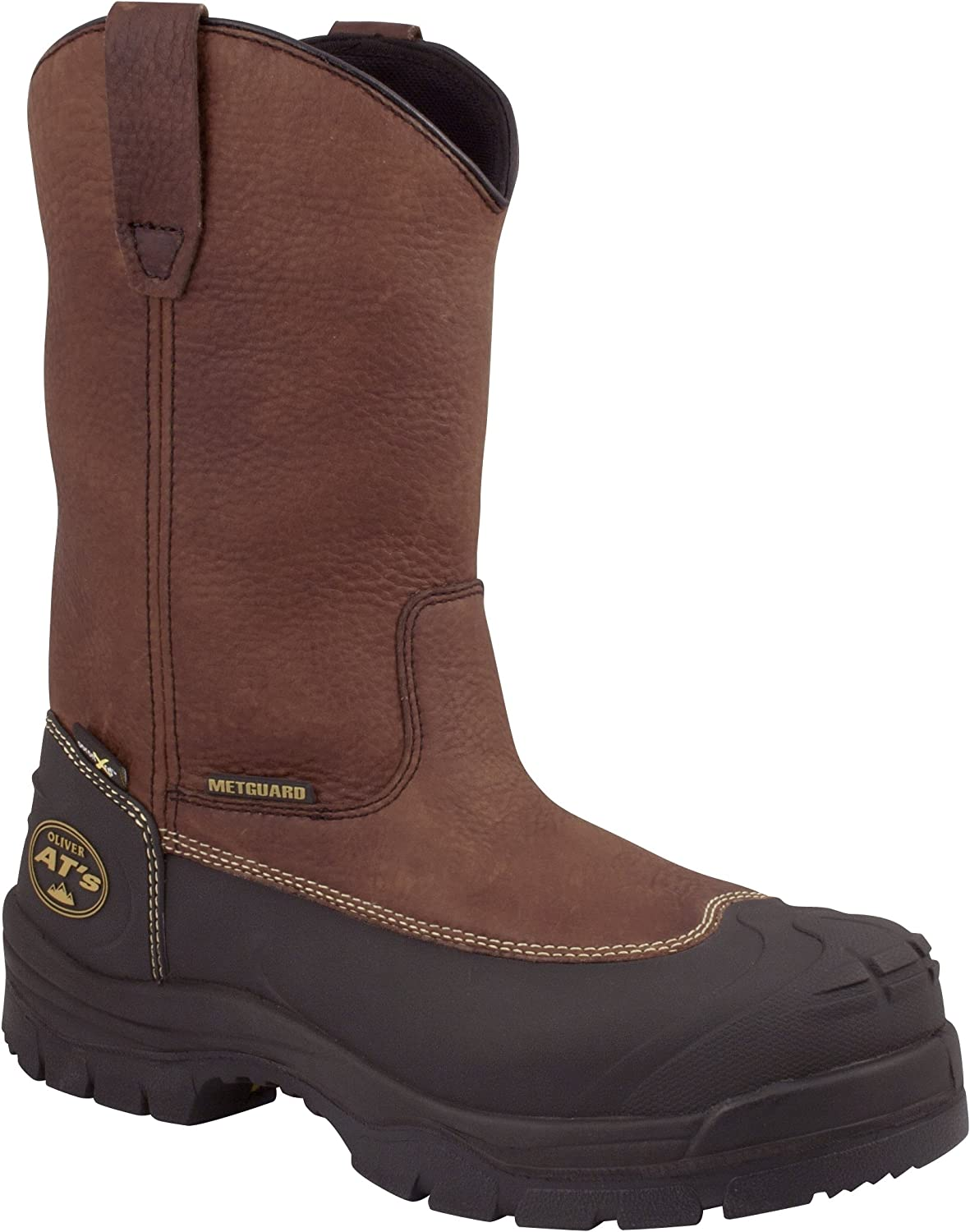 Oliver Footwear 65393/9.5 10-Inch Pull On Riggers Boots, Size-9.5