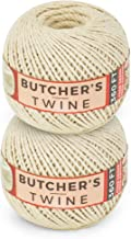 SteadMax Cooking Twine, 100% Natural Cotton Food Grade Baker's Twine, Durable Meat and Vegetable Tie, Easy Dispensing, Tot...