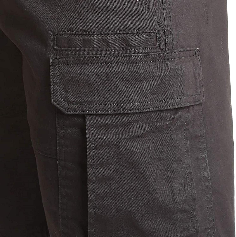 Men's Camouflage Cargo Shorts Leisure Shorts Classic Multi-Pocket Casual Shorts Workout Shorts Flat Front Shorts 7