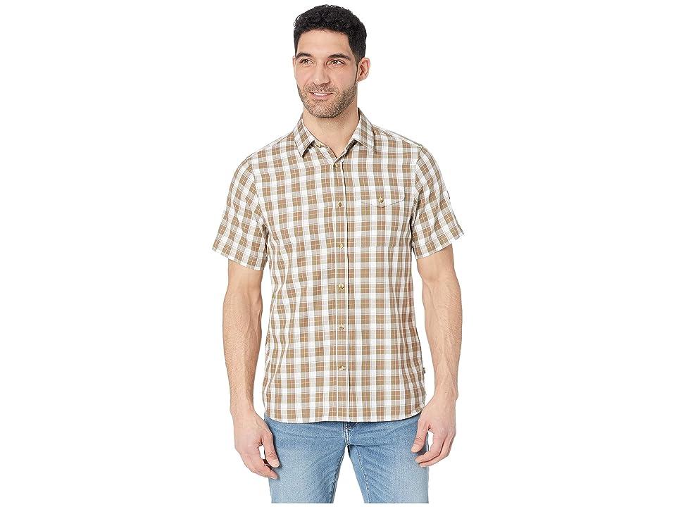 Fjallraven Sarek Short Sleeve Shirt (Savanna) Men