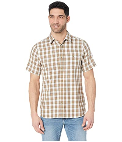 Fjallraven Sarek Short Sleeve Shirt (Savanna) Men