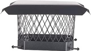 HY-C SC99 Shelter Bolt On Single Flue Chimney Cover, Mesh Size 3/4