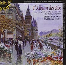 L'Album des Six - Works for flute and piano