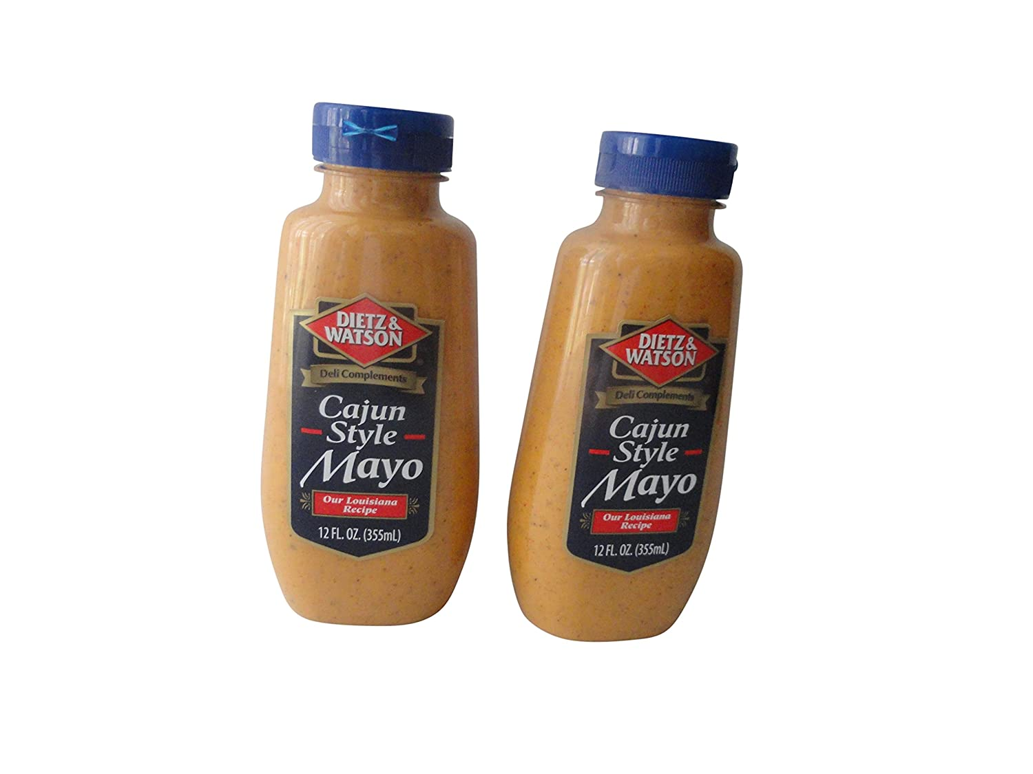 Dietz Watson Deli Complements Cajun Style 12 Regular discount Mayo bottl 2 Outlet ☆ Free Shipping oz -