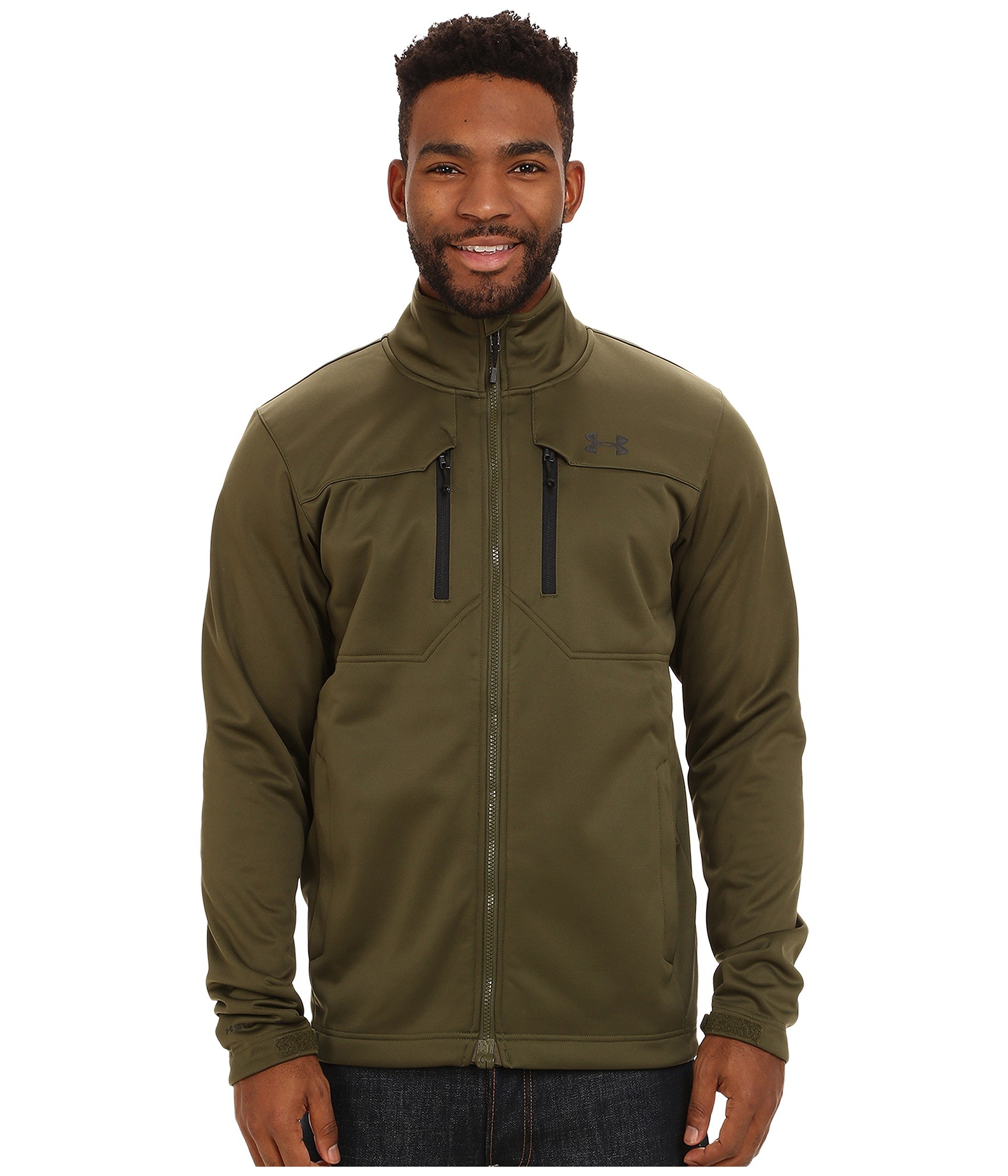 Under Armour Ua Coldgear Infrared Softershell Jacket Greenhead