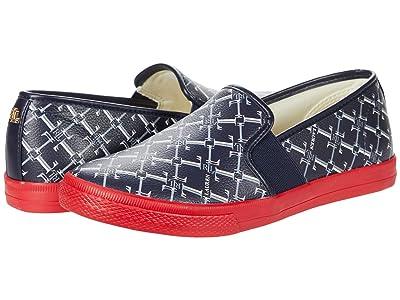 LAUREN Ralph Lauren Jinny Sneaker (Lauren Navy Logo/Lauren) Women