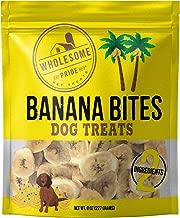 Wholesome Pride 8oz Banana Bites- Dog Treats- All Natural Dog Treat