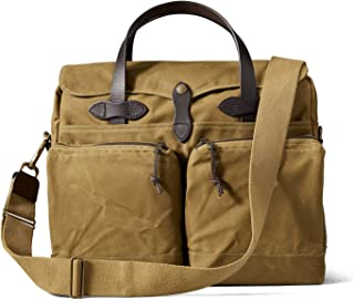 FiLSON 24-Hour Tin Cloth Briefcase - Dark Tan