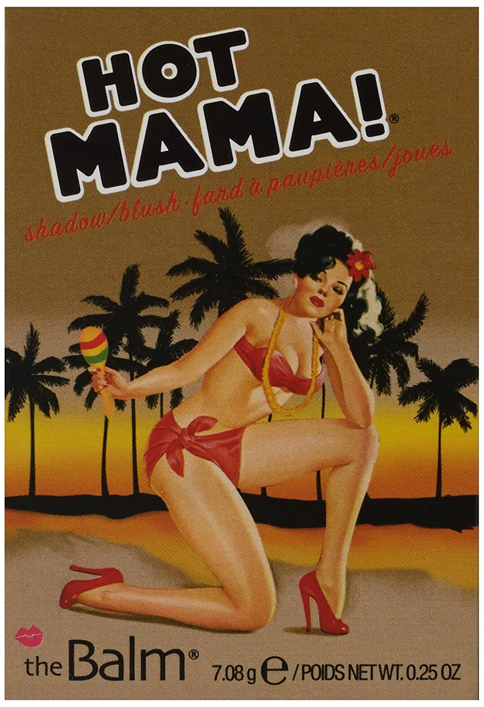 Blush hot mama da the balm Amazon Com Thebalm Hot Mama Shadow Blush Subtle Highlighter Peachy Pink Shade Thebalm Beauty Personal Care