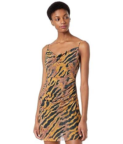 WAYF Canyon Ruched Mini Dress