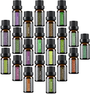 Aromatherapy Oils 100% Pure Basic Essential Oil Gift Set by Wasserstein (Top 20)