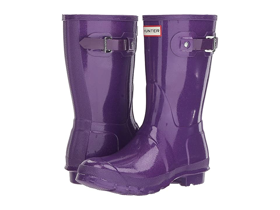 Hunter Original Starcloud Short Rain Boots (Acid Purple) Women