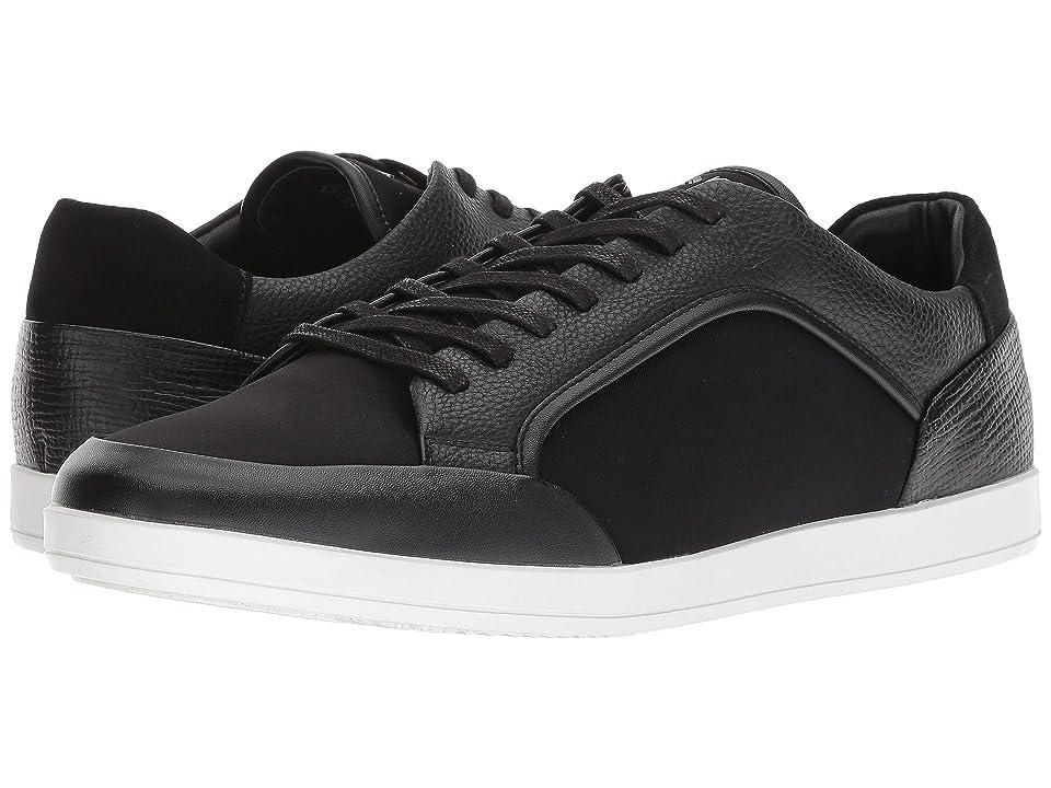 Calvin Klein Maxen 2 (Black Brushed Smooth/Lycra/Tumbled Smooth) Men