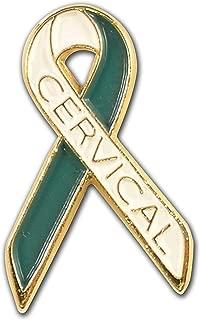Cervical Cancer Awareness Ribbon