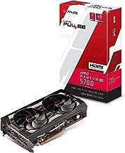 Sapphire 11294-01-20G Radeon Pulse RX 5700 8GB GDDR6 HDMI/ Triple DP OC w/ Backplate (UEFI) PCIe 4.0 Graphics Card