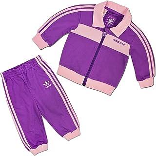 5661c6e2c9ee3 ADIDAS ORIGINALS BECKENBAUER enfants survêtement SET BABY SPORT COSTUME  violet