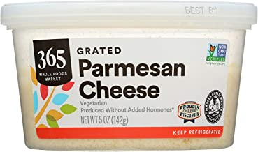 365 Whole Foods Market, Grated Cheese, Parmesan, 5 Ounce (Packaging May Vary)