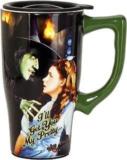 Wizard Of Oz 12886 I'll Get You My Pretty Ceramic Travel Mug, 18 ounces, Multi Colored