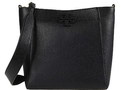 Tory Burch McGraw Hobo (Black) Bags