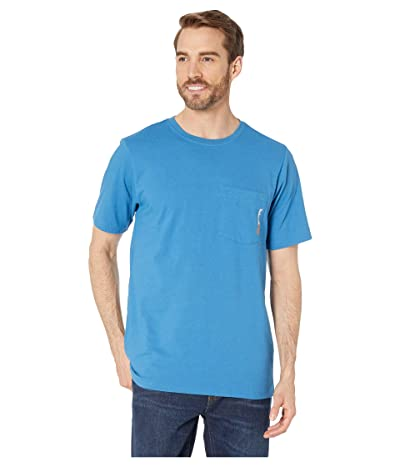 Timberland PRO Base Plate Blended Short Sleeve T-Shirt (Vallarta Blue) Men
