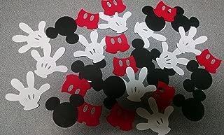 Die Cuts - Cartoon Mouse Hand, Heads & Pants Set - 30piece
