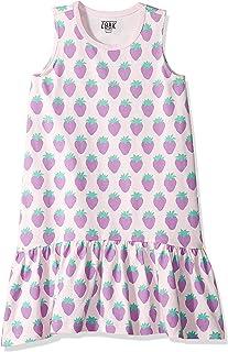 Girls' Ruffle Hem Tank Dress