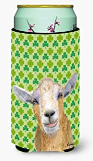 St Patrick's Day Goat Tall Boy Beverage Insulator Beverage Insulator Hugger