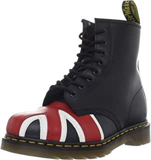 1460 Originals Union Jack 8 Eye Lace Up Boot,Black Smooth...