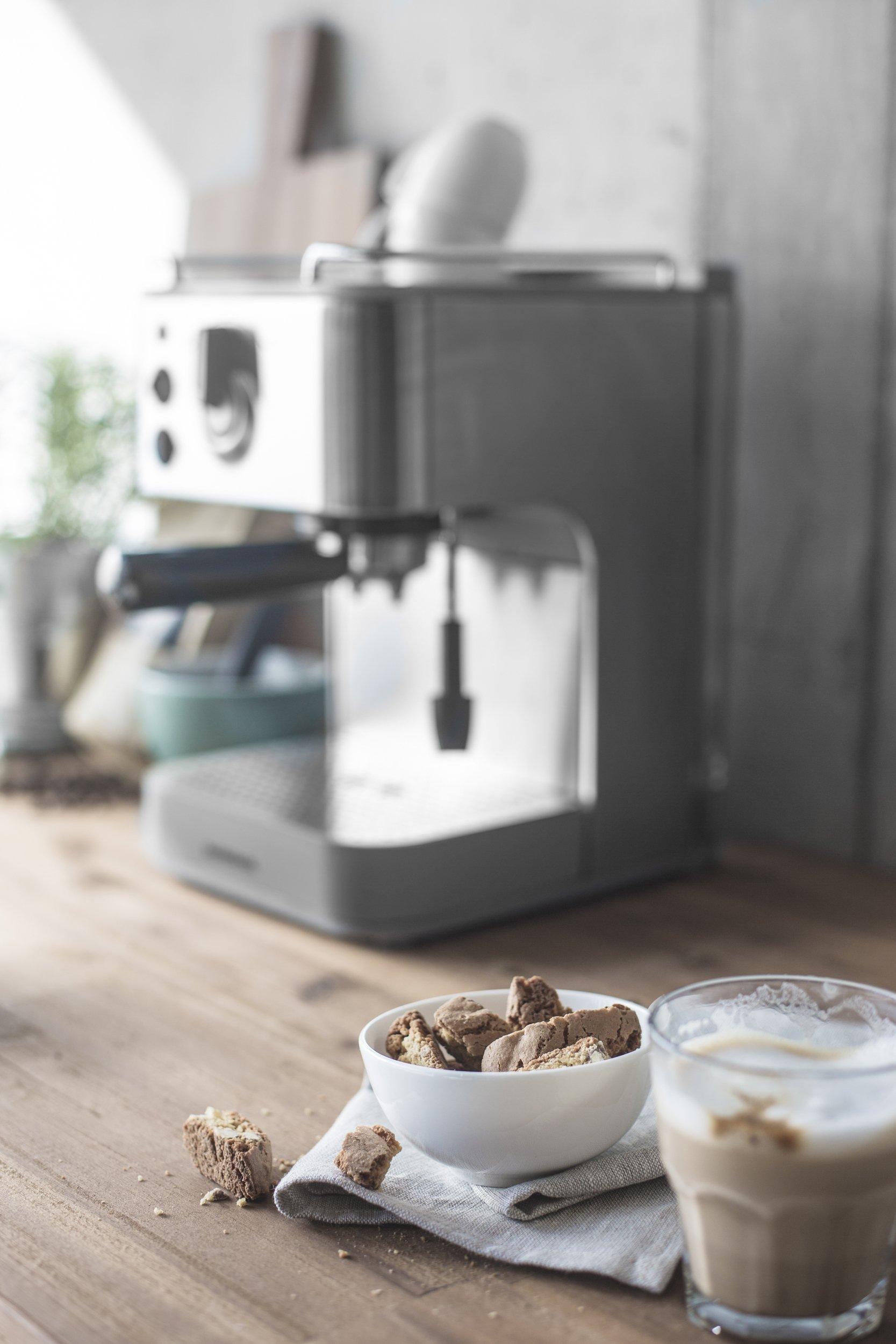 Gastroback 42606 Cafetera Espresso Puls, 1250 W, 1 Liter, 0 ...